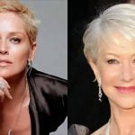 Short pixie haircuts and hair colors over 50
