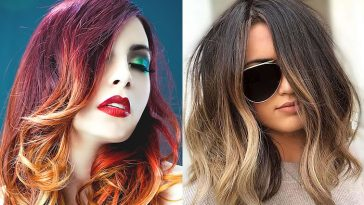 Trend hair colors and hairstyles for women in 2020-2021