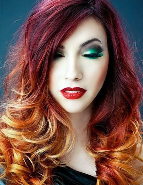 Two Color Hair Dyeing: How To Choose Hair Colors And How To Hair Coloring In 2020