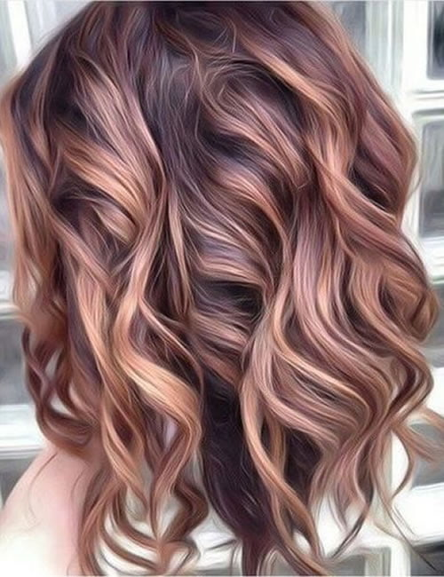Summer Hair Colors 2020.Fashionable Hair Colors Spring Summer 2020 2021 Page 7