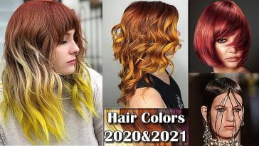 hair colors spring summer 2020-2021