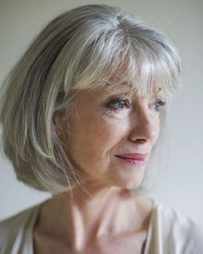 Short haircuts for women over 60 for 2020