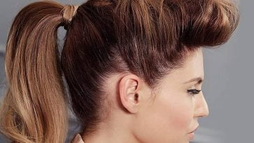Ponytail winter hairstyles for women in 2020