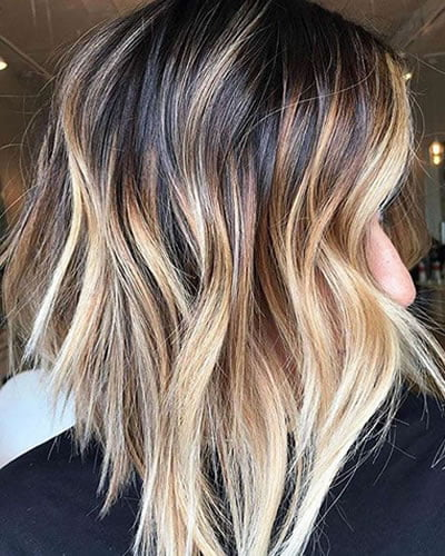 Blonde ombre hair 2020