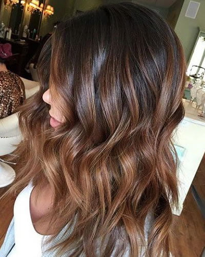 Brown ombre hair 2020