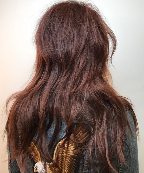 Long shaggy haircuts in 2020 - 2021