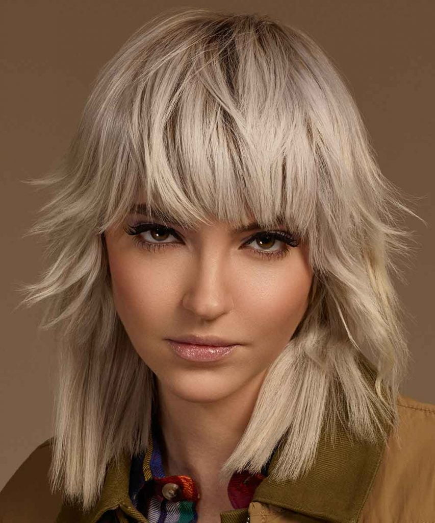Color life! The latest medium length hairstyles for 2021 - HAIRSTYLES