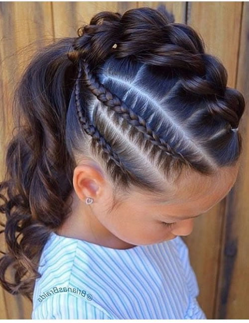Little girl hairstyles for 2021-2022