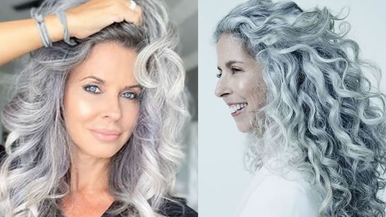 Long hairstyles for older women over 60 in 2021-2022