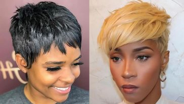 Pixie haircuts for black women in 2021-2022