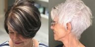 Short Haircuts for Women over 70 in 2021-2022