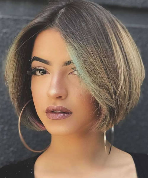 Short bob haircuts and hairstyles for 2021-2022