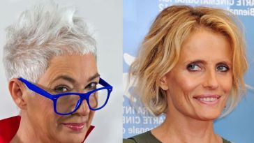 Short hairstyles for older women over 60 in 2021-2022