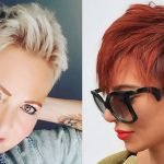 Short hairstyles for women in 2021-2022