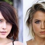 Fine hair for short haircuts 2021-2022
