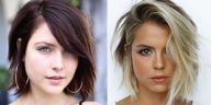 Fine hair for short haircuts 2021-2022