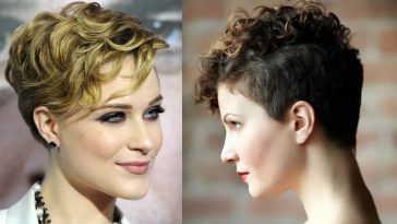 Curly Short Pixie Haircuts for Women in 2021-2022