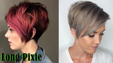 Long Pixie Haircuts 2021-2022