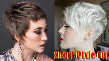 Short Pixie Haircuts 2021-2022
