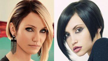 Asymmetrical short haircuts 2021-2022