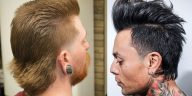 Mullet hairstyles for men in 2021-2022