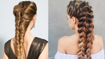 Braids for long hair in 2021-2022